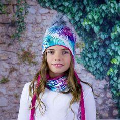 Zimní set čepice s bambulí a nákrčník Winter Hats, Fashion, Moda, Fashion Styles, Fasion
