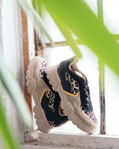 Statement chunky sneakers are a must-have this spring.  AnimalPrint   TOPSHOPSTYLE   0e6a267b9