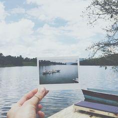 """Canoeing the beautiful #Bunyonyi #lake  #Africa #Uganda #travel #canoe #instax"" Photo taken by @lizehelsen on Instagram, pinned via the InstaPin iOS App! http://www.instapinapp.com (04/13/2015)"
