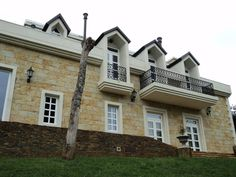 Mansions, House Styles, Home Decor, Barichara, Rock, Decoration Home, Manor Houses, Room Decor, Villas