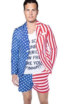 35ea92d204d Americans are very patriotic set of people who are proud of their origin  and love to flaunt the fact that they are Americans. The American Flag  Blazer ...