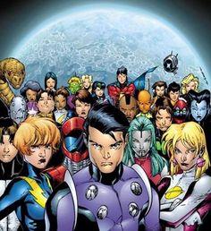 Legion of Super-Heroes - love this artist's work