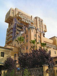 Tower of Terror at Disneyland