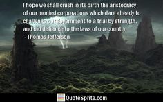 Thomas Jefferson quotes from QuoteSprite.com