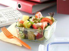 Ensalada de verano para llevarla en el tupper ¡Mmmm! Summer Salad, Cold Food, Salads, Meals, Viajes