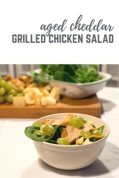 Aged Cheddar Grilled Chicken Salad