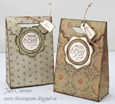 Gift Bag CTMH Artist Cricut cartridge