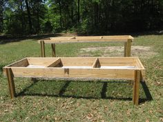 raised garden beds...pic only,  has small type chicken wire on the bottom?