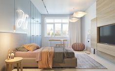 decoration chambre avec néon