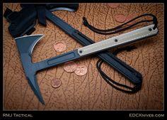 EDC Knives, RMJ Tactical  Kestrel Tomahawk