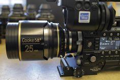 Cooke S5i lenses x Sony PMW-F55 CineAlta camera