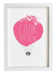cook often eat well balloon by anek