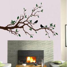 Πουλιά που κελαηδούν, αυτοκόλλητο τοίχου Pixie, Decals, Php, Showers, Money, Home Decor, Style, Shower Heads, Homemade Home Decor