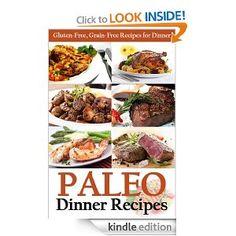 Amazon.com: Paleo Dinner Recipes: Gluten-Free, Grain-Free Recipes for Dinner (Paleo Diet Cookbook) eBook: Martha Stone, PJ Group Publishing: Kindle Store