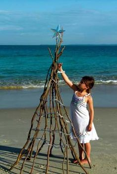 Beach-Christmas-Tree for next year's stylized shoot
