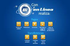 Bi En Línea, tu banco sin tener que ir al banco. #ProductosYServicios #BancoIndustrial
