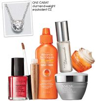 These products are available on http://gmatusewicz.avonrepresentative.com/  be sure to shop e brochure and have shipped to any address.  FREE SHIPPING on $30 or more orders.