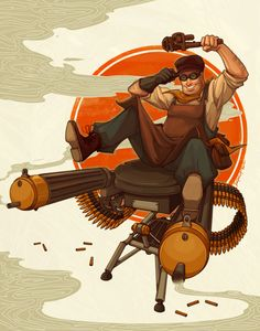 Asian dieselpunk | 1920s Engineer (and Lv. 2 Sentry)There's your 11 hard science PhDs ...