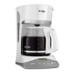Mr Coffee SKX20 12Cup Programmable Coffeemaker White *** Be sure to check out this awesome product.