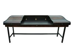 Machine Age – New England's Largest Selection of Mid-20th Century Modern Furniture | Rosewood Roll-Top Desk by Edward Wormley for Dunbar