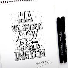 Bea Királyfalvi Hand Lettering (@betuk_es_pont) • Instagram-fényképek és -videók Hand Lettering, Books, Instagram, Libros, Handwriting, Book, Calligraphy, Book Illustrations, Hand Drawn Type