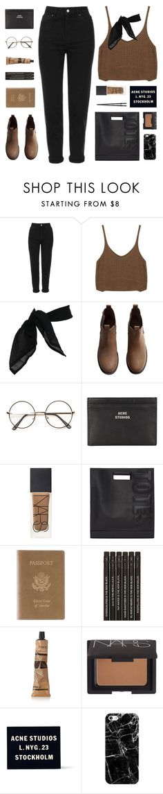 """it's you"" by nothing-like-the-rain ❤ liked on Polyvore featuring Topshop, TC Fine Intimates, H&M, ZeroUV, Acne Studios, NARS Cosmetics, 3.1 Phillip Lim, Royce Leather, Aesop and Casetify"