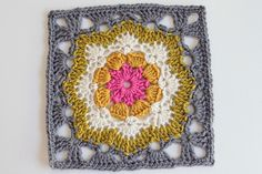 Vintage Pattern: Nasturtium Afghan from Star Afghan Book No. 154 American Thread Company (the link may or may not work. It's an archived web page so it's hit or miss sometimes) Hook used: H Colors Used: I love this yarn's Grey Beard, Old Leaf, Ivory, Sungold and Hot Rose. This...
