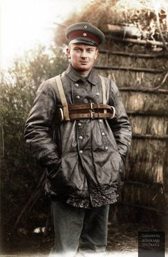A German Zeppelin crewman poses in his leather flying suit and parachute harness.  (Source - The Drakegoodman Collection.)  A total of 115 Zeppelin-type airships was used by the German military in the First World War. The army and navy lost 53 airships and 379 highly trained officers and men, and 24 airships were so damaged they could not be used again. The German Zeppelin fleet was used much more for reconnaissance missions than bombing, with over 1200 sorties flown over the North Sea…