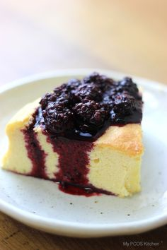 Japanese Cotton Cheesecake - A gluten-free and sugar-free alternative to the…