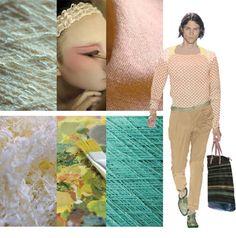 s/s 2013 textile apparel fabric trend board 6