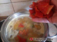 """Κόκκινες φακές σε σούπα, μία """"άγνωστη"""" νοστιμιά!!! συνταγή από ggr - Cookpad Oatmeal, Pudding, Breakfast, Desserts, Food, The Oatmeal, Flan, Postres, Rolled Oats"""