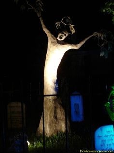 Wailing tree - OK seriously, I need to get creative and start making something like this.  This looks rad.
