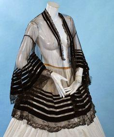 Sheer Net 1850's Canezou Jacket