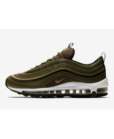 best sneakers 49971 2891b Nike Air Max 97 Olive Green Trainers 921733-200 Air Max 97, Nike Air