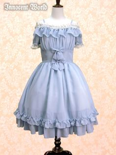 Innocent World - OP - Mary Bell OP /// ¥21,840 /// Bust:  105-138 Waist:  67-107 Length:  93