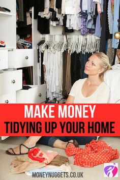 Looking to make some extra money? Then find out how tidying up your stuff can help you make extra money now. You never know what you have until you clean your room.