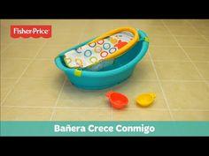 Fisher-Price Bañera Crece Conmigo - YouTube