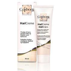 Cosborg Hælkrem for tørre, sprukne og grove hæler og fotsåler Shampoo, Personal Care, Bottle, Beauty, Velvet, Self Care, Personal Hygiene, Flask, Cosmetology
