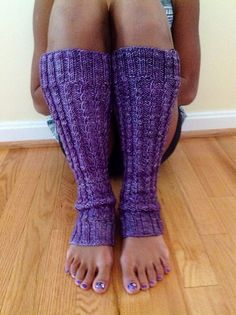 Tiara Legwarmers - *Available on Ravelry*  (super <3)