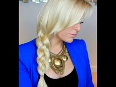 Four Strand Braid Tutorial ---another beautiful braid!