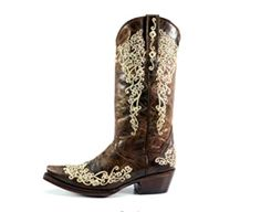 063737e42 We now offer Corkys Girl Fiesta Embroidered Bling Boot in brown available  in size 6-11  269.99