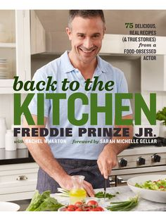 EXCLUSIVE: Get a First Look at Freddie Prinze Jr.'s Upcoming Cookbook Back to the Kitchen http://greatideas.people.com/2016/02/04/freddie-prinze-jr-cookbook-back-to-the-kitchen/