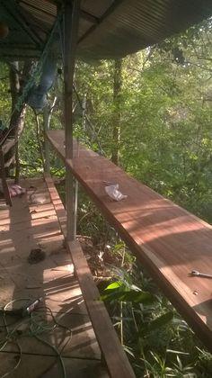 La Baranda de la Casa del árbol- tree house Bar fence.