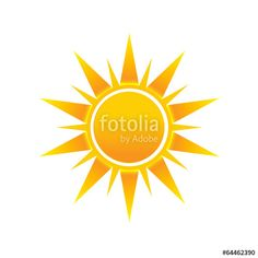 "Download the royalty-free vector ""Shinny Sun image logo icon"" designed by Fotolia365 at the lowest price on Fotolia.com. Browse our cheap image bank online to find the perfect stock vector for your marketing projects!"