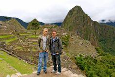 Tom Bridegroom & Shane Bitney Crone in Peru - See more: https://www.facebook.com/photo.php?fbid=473223332758490&set=pb.115224061891754.-2207520000.1384900877.&type=3&theater