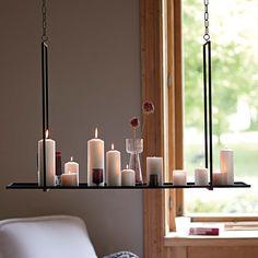 hängende Kerzen / hanging candles  #impressionen #moebel #licht