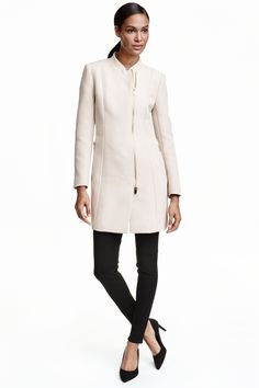 love the simplicity of this coat...good length for you as not too long