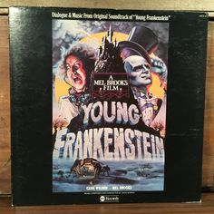 Young Frankenstein Dialogue and Music from the Soundtrack OST Vinyl LP 1975 ABC Records Mel Brooks Gene Wilder by vintagebaron on Etsy