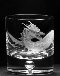 Dragon Whisky Glass *For Sale*