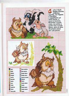 Fiorellino Thumper e Bambi Owl
